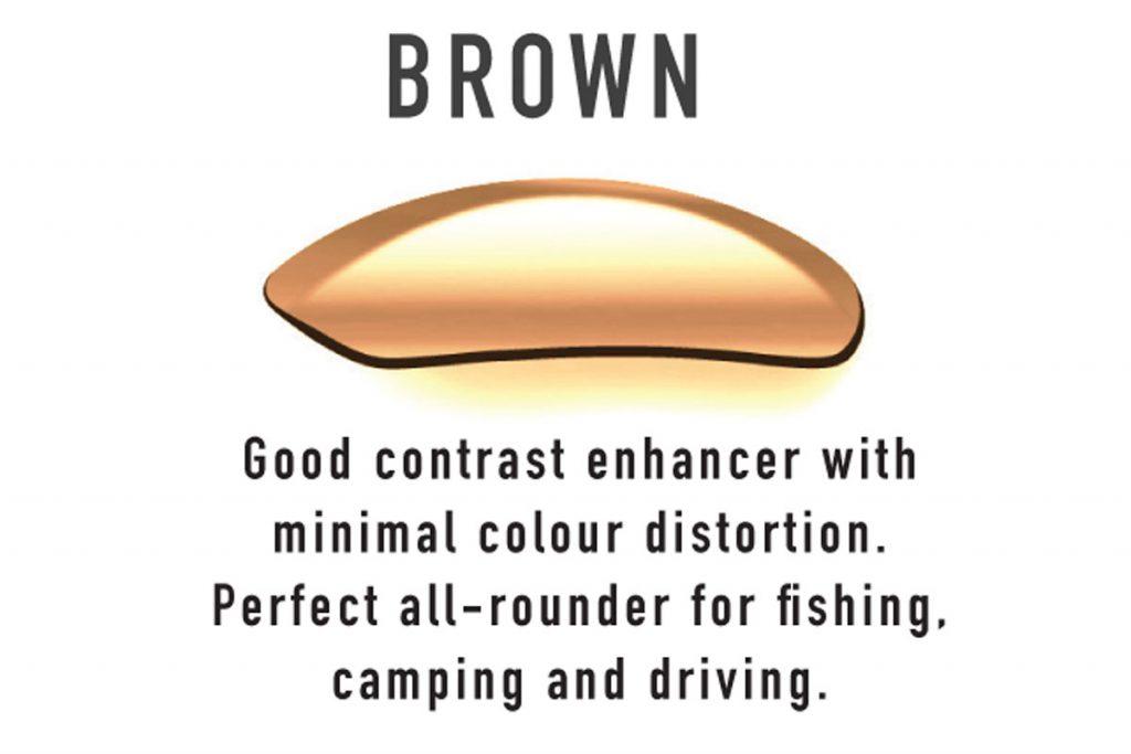 Mako brown lens